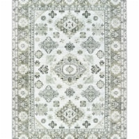 United Weavers of America 853 10790 69 5 ft. 3 in. x 7 ft. 6 in. Royalton Richmond Cream Rect - 1
