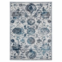 United Weavers of America 1815 30572 58 5 ft. 3 in. x 7 ft. 2 in. Bali Sicily Gray Rectangle
