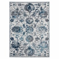 United Weavers of America 1815 30572 912 7 ft. 10 in. x 10 ft. 6 in. Bali Sicily Gray Rectang - 1