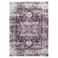 United Weavers of America 713 20338 28E 2 ft. 7 in. x 7 ft. 2 in. Abigail Lileth Wine Rectang