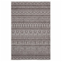 United Weavers of America 3900 10150 69 5 ft. 3 in. x 7 ft. 6 in. Augusta Diani Brown Rectang - 1