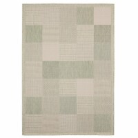 United Weavers of America 3900 10745 69 5 ft. 3 in. x 7 ft. 6 in. Augusta Grand Anse Green Re - 1