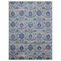 United Weavers of America 4000 40261 24 1 ft. 10 in. x 3 ft. Clairmont Arish Denim Blue Recta