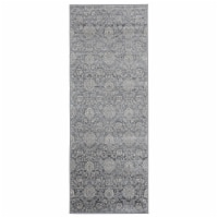United Weavers of America 4000 40290 28E 2 ft. 7 in. x 7 ft. 2 in. Clairmont Limassol Cream R