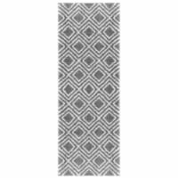 United Weavers of America 1840 20072 28E 2 ft. 7 in. x 7 ft. 2 in. Tranquility Stellan Gray R - 1