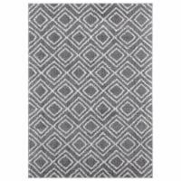 United Weavers of America 1840 20072 359 3 ft. 3 in. x 4 ft. 11 in. Tranquility Stellan Gray - 1