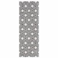 United Weavers of America 1840 20099 28E 2 ft. 7 in. x 7 ft. 2 in. Tranquility Stellan White - 1