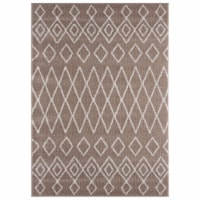 United Weavers of America 1840 20126 912 7 ft. 10 in. x 10 ft. 6 in. Tranquility Tully Beige - 1
