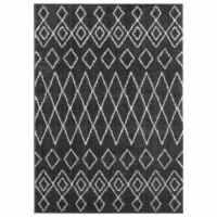United Weavers of America 1840 20177 359 3 ft. 3 in. x 4 ft. 11 in. Tranquility Tully Smoke R - 1