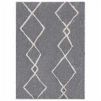 United Weavers of America 1840 20272 58 5 ft. 3 in. x 7 ft. 2 in. Tranquility Casimir Gray Re