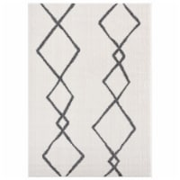 United Weavers of America 1840 20299 912 7 ft. 10 in. x 10 ft. 6 in. Tranquility Casimir Whit - 1