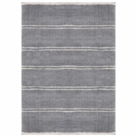 United Weavers of America 1840 20372 24 1 ft. 11 in. x 3 ft. Tranquility Irenaeus Gray Rectan - 1