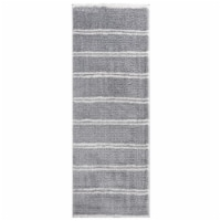 United Weavers of America 1840 20372 28E 2 ft. 7 in. x 7 ft. 2 in. Tranquility Irenaeus Gray