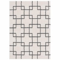 United Weavers of America 1840 20599 912 7 ft. 10 in. x 10 ft. 6 in. Tranquility Aaru White R - 1