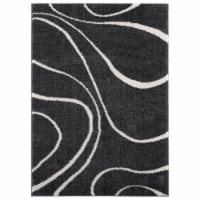 United Weavers of America 1840 20699 912 7 ft. 10 in. x 10 ft. 6 in. Tranquility Yasu White R - 1