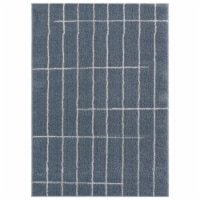 United Weavers of America 1840 20767 24 1 ft. 11 in. x 3 ft. Tranquility Concordia Blue & Gra - 1