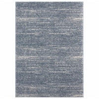 United Weavers of America 1840 20867 24 1 ft. 11 in. x 3 ft. Tranquility Zuelia Blue & Gray R