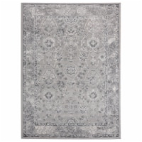 United Weavers of America 2601 10272 912 Cascades Shasta Grey Area Rectangle Rug, 7 ft. 10 in - 1