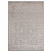 United Weavers of America 2601 10291 58 Cascades Shasta Wheat Area Rectangle Rug, 5 ft. 3 in. - 1
