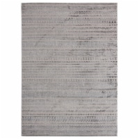 United Weavers of America 2601 10772 58 Cascades Yamsay Grey Area Rectangle Rug, 5 ft. 3 in.