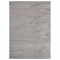 United Weavers of America 2601 10772 912 Cascades Yamsay Grey Area Rectangle Rug, 7 ft. 10 in - 1