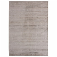United Weavers of America 2601 10791 58 Cascades Yamsay Wheat Area Rectangle Rug, 5 ft. 3 in.