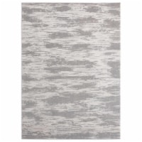 United Weavers of America 2601 10971 58 Cascades Salish Silver Area Rectangle Rug, 5 ft. 3 in