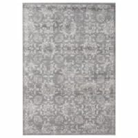United Weavers of America 4520 12172 912 Aspen Orchard Grey Area Rectangle Rug, 7 ft. 10 in. - 1