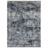United Weavers of America 4535 10160 58 Eternity Barcelona Blue Area Rectangle Rug, 5 ft. 3 i - 1