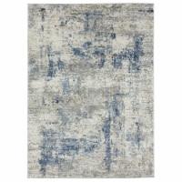 United Weavers of America 4535 10360 28E Eternity Elixir Blue Runner Rug, 2 ft. 7 in. x 7 ft. - 1