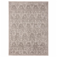 United Weavers of America 1855 20494 58 Imperial Enlighten Taupe Area Rectangle Rug, 5 ft. 3