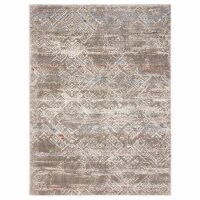 United Weavers of America 1855 20294 46 Imperial Obsession Taupe Area Rectangle Rug, 3 ft. 11 - 1