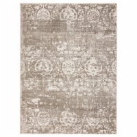 United Weavers of America 1855 20594 46 Imperial Regulus Taupe Area Rectangle Rug, 3 ft. 11 i