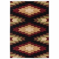 United Weavers of America 2055 41175 912 Cottage Navajo Multi Color Area Rectangle Rug, 7 ft.