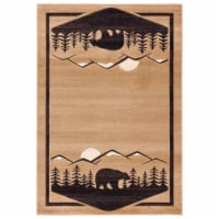 United Weavers of America 2055 41226 912 7 ft. 10 in. x 10 ft. 6 in. Cottage Treetops Rectang