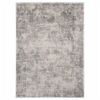 United Weavers of America 2640 40391 58 Emojy Chi Wheat Area Rectangle Rug, 5 ft. 3 in. x 7 f