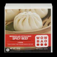 Wow Bao Spicy Beef Mongolian Style Bao - 10 oz