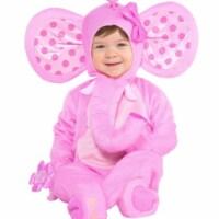 Amscan 402933 Elephant Sweetie Costume - Large - 1