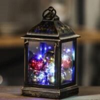 Luxen Home WHDL374 Ornaments LED String Light Square Lantern - 1