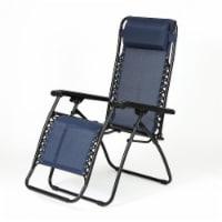 Luxen Home Zero Gravity Chair Blue - 1