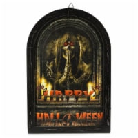 Luxen Home Happy Halloween Canvas Print with LED Lights - 1