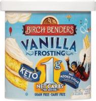 Birch Benders Keto Vanilla Frosting - 10 oz
