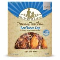 Ethical Pet 810002631047 Fieldcrest Farms Beef Knee Cap - Pack of 4