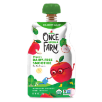 Once Upon a Farm™ Organic Go Go Greens Smoothie Pouch - 4 oz