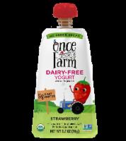 Once Upon a Farm Organic Strawberry Kids Dairy-Free Yogurt