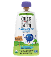 Once Upon a Farm Organic Blueberry Kids Dairy-Free Yogurt