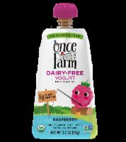 Once Upon a Farm Organic Raspberry Kids Dairy-Free Yogurt