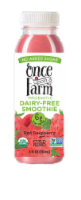 Once Upon A Farm Red Raspberry Probiotic Dairy-Free Smoothie