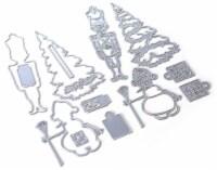 Elizabeth Craft Metal Die-Planner Essentials 34 -Christmas Figures - 1