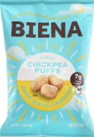 Biena Aged White Cheddar Baked Chickpea Puffs